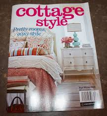 cottage style magazine another one of my projects featured in national magazine cottage