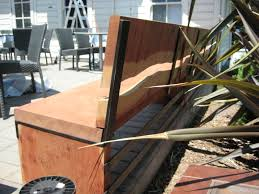 Presidio Patio Furniture by Sebastian Parker Sculpture And Furniture Design Redwood And