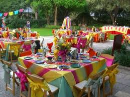 birthday party backyard decorations ideas party decoration picture