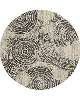 Round Woven Rugs Fall Sale Art Carpet Ferndale Collection Walkway Woven Round Area