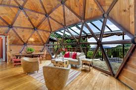 geodesic dome house couple spent seven years handcrafting their dream geodesic home