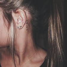 ear tattoo believe amp no this has nothing to do with justin