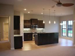 kitchen room gray stain wall varnished wood floor tile varnished