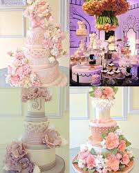 these drop dead gorgeous wedding cakes from lindsey sinatra of a