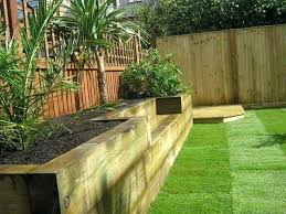 Gardens With Sleepers Ideas Garden Designs With Railway Sleepers Design Ideas For A
