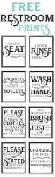 best 25 half bathrooms ideas on pinterest half bathroom remodel free vintage bathroom printables