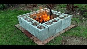 Block Firepit The Cheap Cinder Block Pit Ideas My Sweet House