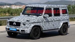 images of mercedes g wagon photos reveal more mercedes g class updates autoblog