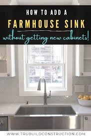 how to install farm sink in cabinet the best retrofit farmhouse sinks for your kitchen