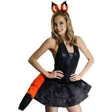 Fox Halloween Costumes Fox Halloween Costume 2 Piece Fox Kit Halloween Costume