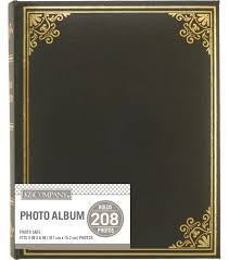 joann fabrics photo albums k company black library 2 up basic photo album joann