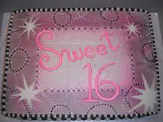 sweet 16 sheet cake u2026 pinteres u2026