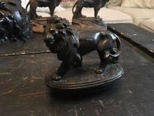 silver lion statue silver lion statue ebay
