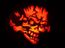 Free Scary Halloween Pumpkin Stencils - free skull pumpkin pattern google search halloween pinterest