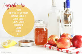 martini ingredients apple cider martini the chic site