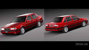 volvo eu 3d model volvo 850 sedan eu 1991 1997 cgriver com youtube