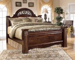 Bedroom Furniture Oklahoma City by Gabriela Queen Poster Bed By Ashley Home Gallery Stores