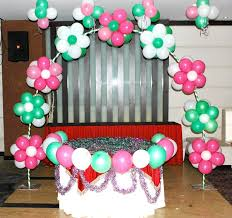 decorative ideas and cheap party decorative ideas with balloons