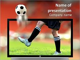 football player powerpoint template u0026 backgrounds id 0000008106