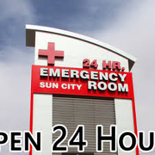 sun city emergency room east emergency rooms 3281 joe battle