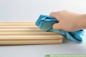 3 ways to remove blood from hardwood floors wikihow