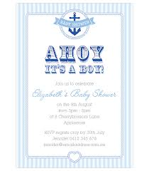 sailor invitations baby shower nautical baby shower invitations