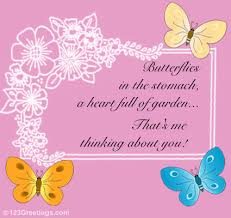 butterflies in the stomach free butterfly day ecards greeting