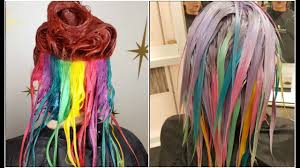 new haircut and color transformation compilation 2017 youtube
