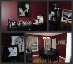 Dark Red Dining Room by Love The Colour Love The Archway I U0027m Sold W For The Home