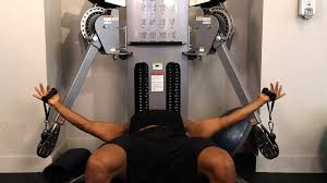 how to do a flat bench cable fly chest workout youtube