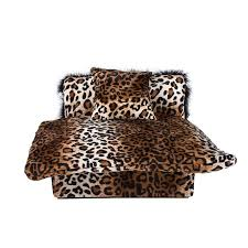 Animal Print Furniture by Amazon Com Mini Bed Zebra Pet Bed Dog Furniture Pet Supplies