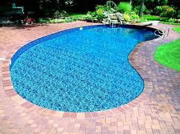 decoration cool kidney pool inground classic hollywood style