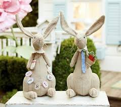easter rabbits decorations cool easter decoration ideas with easter bunny and colorful easter