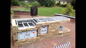 custom outdoor kitchen designs how build custom outdoor kitchen metal studs bbq grill island
