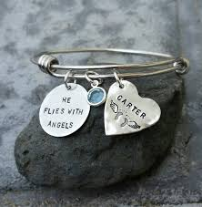 memorial bracelets for loved ones memorial remembrance bracelets metal sted memories