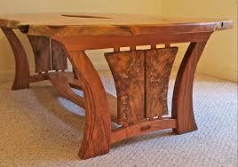 custom handmade live edge mesquite u0026 pecan coffee table