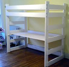 Bunk Bed With Desk And Futon Loft Beds Metal Twin Loft Bed With Desk Bunk Beds Futon Full