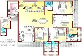 4 bedroom 1 house plans simple 1 floor house plans surprising design ideas one house
