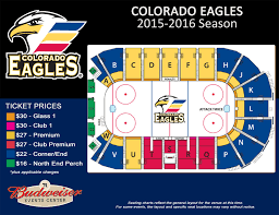 Pepsi Center Seating Map Budweiser Events Center Loveland Co Details