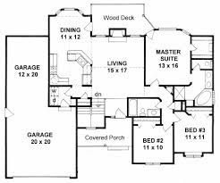 ranch floor plans with 3 bedrooms pictures house plans with three car garage the latest