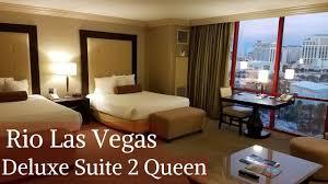 rio masquerade suite floor plan rio las vegas deluxe suite 2 queens youtube