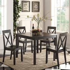 five piece dining room sets acme furniture 72510 zlipury 5 piece dining set the mine