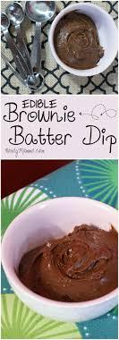 edible cake images eggless edible brownie batter dip