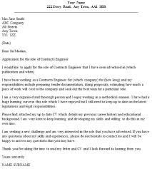 examples of engineering cover letters resignation letter format