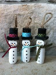 16 wine cork snowman 39 cork crafts that will make you wish you