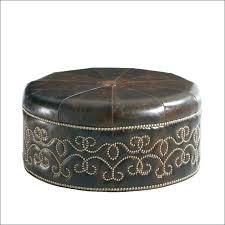 Ottoman Pottery Leather Ottoman Bemine Co