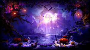 halloween purple background halloween full hd wallpaper and background 1920x1080 id 178429