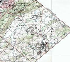 Fountain Valley Map Lehigh County Pennsylvania Township Maps