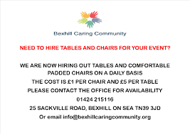 tables and chair hire jpg