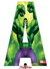superhero series hulk poster print gique